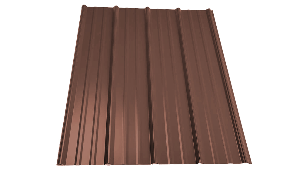 Brown Panel For Steel Structures Brown Metal Roof Panel